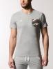 T-shirt Tee AC Milan leisure Original Adidas Men 2015 Grey