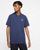 Nike Matchup Piquet Cotton Blue Men's Polo Shirt