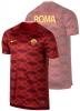 As Roma Nike Maglia Allenamento Pre Gara Pre Match Squad Top Rosso 2017 18