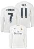 Real Madrid Adidas Maglia Calcio Toppa Liga ufficiale sulla manica destra