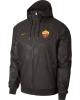 As Roma Nike Giacca Sportiva sport jacket 2017 18 Windrunner k-Way marrone