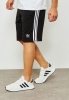 Adidas Originals Trefoil Pantaloncini Shorts Nero 3-Stripes 2019 cotone