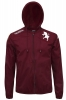 Rain wind jacket k-way Torino kappa maroon man 2016 17