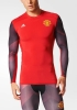 Manchester United Adidas Intimo Tecnico Techfit maniche lunghe Rosso