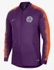 Pre Match Anthem jacket Manchester City Nike 2018 19 Purple Men's