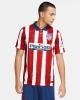Atletico Madrid Nike Home 2020 21 Herren Fußballtrikot Weiß Rot