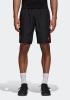 Manchester United Adidas Pantaloncini Shorts Woven Nero con TASCHE a ZIP