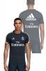 Real Madrid Adidas Fly Emirates Maglia Allenamento Training 2018 19 Tee Blu