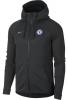 Chelsea Fc Nike Giacca Allenamento 2017 18 Tech Fleece Windrunner Nero Uomo