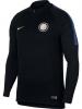 Dry squad Top Inter fc Nike Felpa Allenamento Nero Mezza zip 2018 19