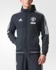 Presentation jacket Manchester United adidas original man 2017 18 Black Climalite
