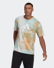 t-shirt leisure adidas ESSENTIALS TIE-DYED INSPIRATIONAL Cotton Man multicolor