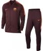 Barcellona Nike Tuta Allenamento Training 2017 18 Amaranto versione panchina