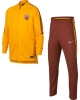 Training Tracksuit Nike AS ROMA bench Original Version 2018 19 yellow BOY YOUTH