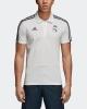 Real Madrid Adidas Polo Maglia Bianco 2018 19