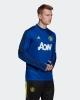Training Sweatshirt Top MANCHESTER UNITED Adidas Uomo 2019 20 Blue original