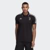 FC Juventus Polo-Shirt Adidas Black Cotton Mann 2019