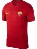 As Roma Nike Crest Tee maglia maglietta T-shirt tempo libero Rosso 2018 Uomo