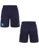 SSC Napoli Kappa Pantaloncini Shorts Blu 2017 18 Training allenamento