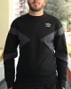 SPORTSWEAR Sweatshirt Crew UMBRO ESSENTIAL Cotton Man Original Black