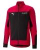 Sport suit jacket Puma AC MILAN Evostripe Cotton 2021 pockets with zip RED