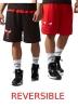 Adidas Pantaloncini Shorts NBA Chicago Bulls Summer RN reversibili 2017