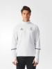 Real Madrid Adidas Felpa Allenamento Training Top Sweatshirt Bianco 2016 17