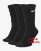 Everyday Nike Calze Calzini Calzettoni Socks Unisex Nero cotone