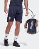Trainingsshorts JUVENTUS Adidas Men Blue 2020 21 AEROREADY Taschen mit Reißverschluss