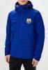 Bomber Daunenjacke Jacke FC Barcelona Nike Sportswear Herren 2018 19 blau