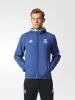 Presentation hooded jacket Real Madrid Adidas Original Men 2016 17 blue