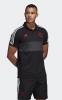 Manchester United Adidas Polo Maglia Nero 2019 cotone