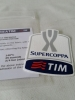 Patch Badge x football jersey shirt Official Player issue Super Cup 2015 Lazio Juventus
