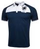 Sampdoria Joma Polo Maglia Shirt da Passeggio Blu 2017 Cotone