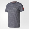 All Blacks New Zealand Adidas Performance Tee T-shirt tempo libero Grigio 2017