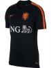 Olanda Holland Nederland Nike Maglia Allenamento Breathe Squad top 2018 Nero