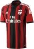 Ac Milan Adidas Maglia Calcio Football Shirt Rosso 2014 15 Home Uomo