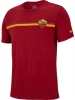 t-shirt AS ROMA Nike Crest tee Crew 2018 19 Men\'s Red Original