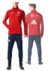 Bayern Monaco Adidas Tuta Allenamento Training 2017 18 Sponsor T Mobile Rosso