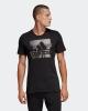 Adidas Bos Foil T-shirt tempo libero amglia maglietta Nero Sportswear Cotone