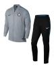 Inter fc Nike Tuta Allenamento Training Grigio versione Panchina aderente 2018