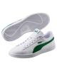 Puma Scarpe Sneakers Sportive Sportswear SMASH V2 L Bianco Verde Lifestyle