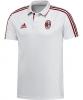 Ac Milan Adidas Polo Maglia Shirt Uomo Bianco 2017 18 maniche corte