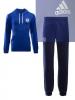Chelsea Fc Adidas Tuta tempo libero Tracksuit 2016 17 sweat hoodie Blu