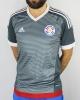 PARAGUAY APF Football jersey Shirt Adidas Away short sleeves Climacool America's Cup 2015 Gray original man