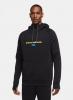 Hoodie FC Inter Nike Pullover Fleece Sportswear Baumwolle 2020 21 Schwarz