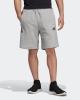 shorts adidas Tango Graphic sweat Gray cotton with pockets