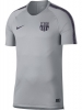 Training Jersey Shirt Nike FC Barcelona Breathe Squad Top 2018 19 Gray Men\'s Original
