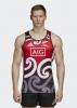 All Blacks New Zealand Adidas Maglia Allenamento Singlet MAORI 2018 19