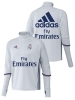 Fly Emirates Real Madrid Adidas Felpa Allenamento Training Top Bianco 2016 17